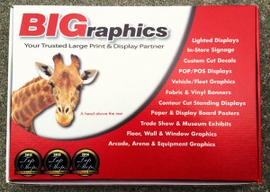 Request a BIGraphics Sample Kit