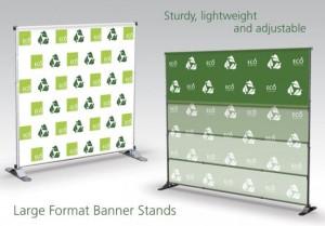 Lg formal banner stands